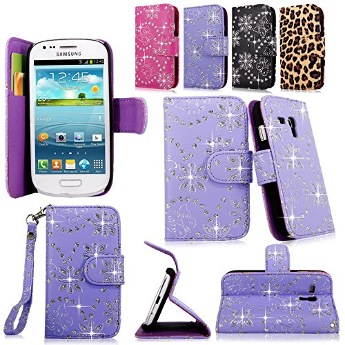 Cellularvilla Wallet Samsung Leather Glitter