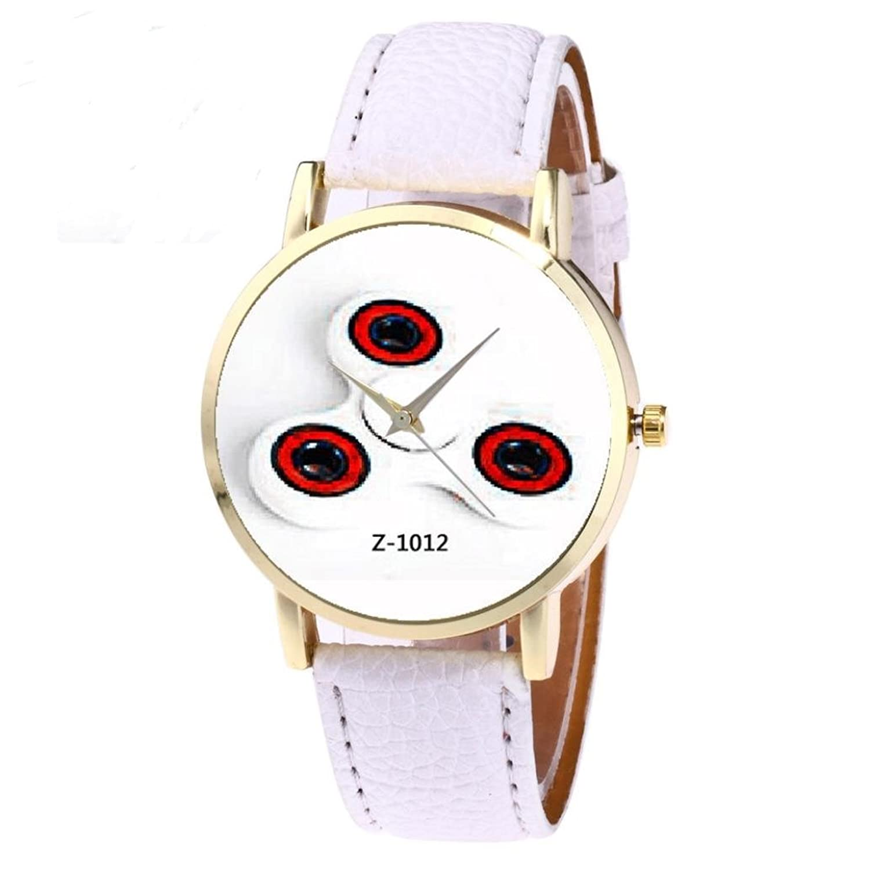 Yoyoruleレトロデザインレザーバンドアナログ合金クォーツ腕時計 マルチ ピンク B072JM7TLL