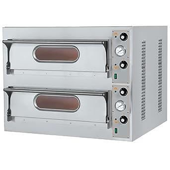Macfrin 5199 Horno Eléctrico para 9+9 Pizzas: Amazon.es: Industria ...