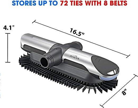 Organizador motorizado con luces LED Aniva rotaci/ón funciona con pilas incluye ganchos en J para estanter/ías con cable hasta 72 lazos con 8 cinturones