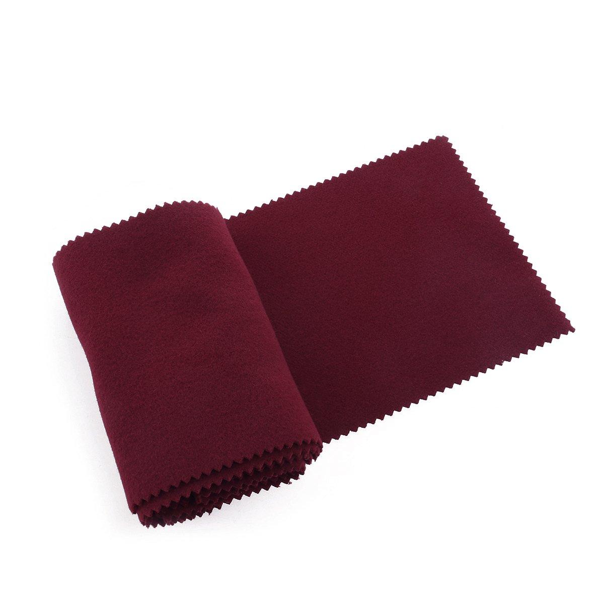 WINOMO 128 * 15CM Klaviertastatur Staubschutz Tastaturabdeckung Tuch (rot) 8X161504QSQVA5252