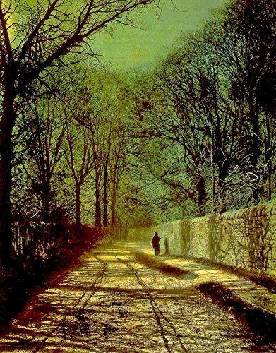 Tree Shadows On The Park Wall, Roundhay Park, Leeds - By John Atkinson Grimshaw - Canvas Prints 12