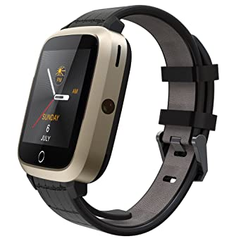 Amazon.com: Romacci tarjeta SIM 3 G smart watch Nano 1.54 ...