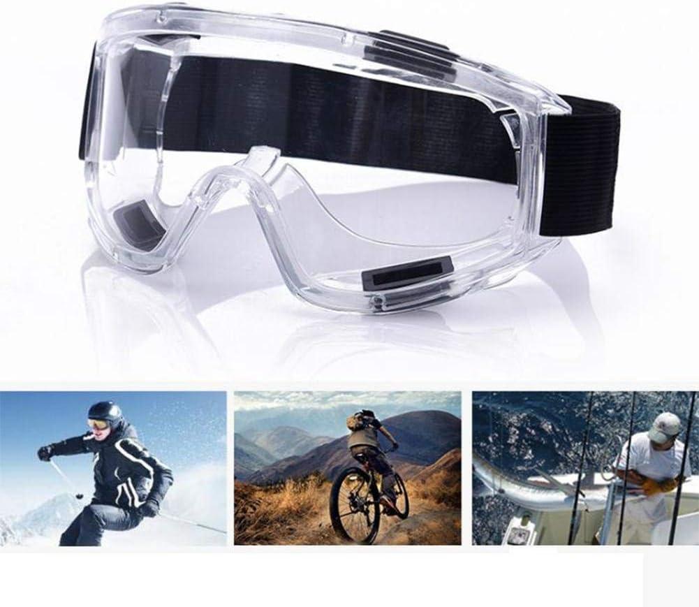 Gafas de seguridad, gafas deportivas reforzadas Gafas antideslumbrantes a prueba de polvo A prueba de polvo A prueba de arena A prueba de impacto Montar a prueba de salpicaduras Gafas de seguridad