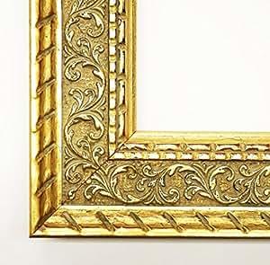 Fotos Chateau Oro 5,7–con plexiglás–60x 80cm–Real–Marco de madera