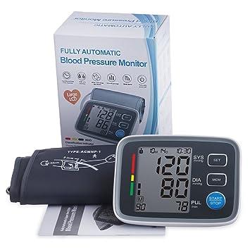 MOCITA Automatic Blood Pressure Monitor - Hypertension Indicator, Irregular Heartbeat Detection,...