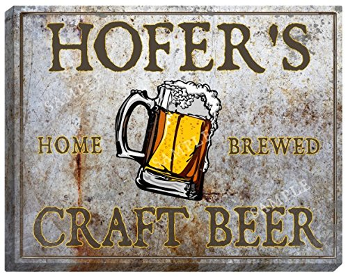 hofers-craft-beer-stretched-canvas-sign-24-x-30
