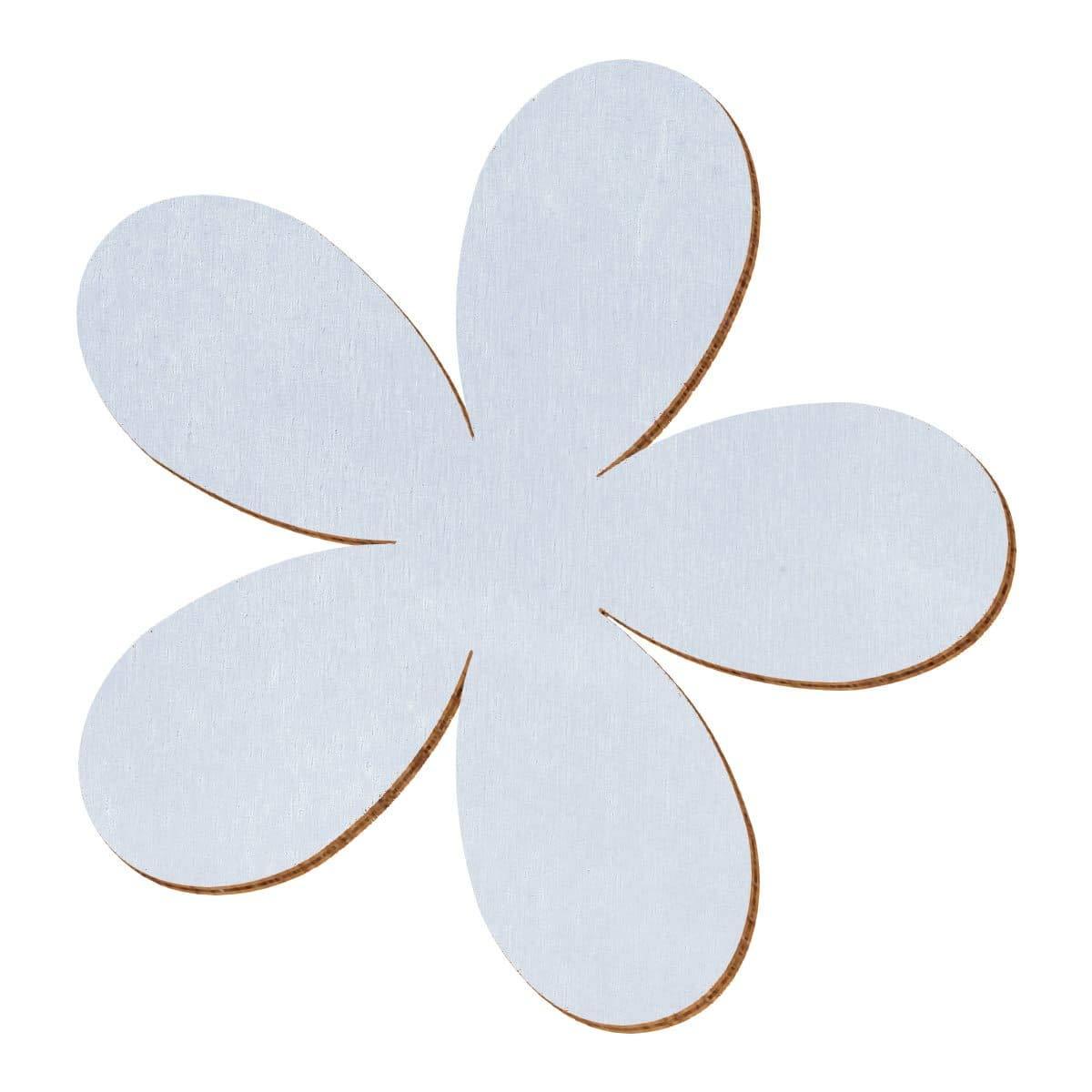 Lavendel farbene Holz Plumeria - 2-10cm Streudeko Basteln Deko Tischdeko, Größe 10cm, Pack mit 100 Stück B07NC15Z9S | Gute Qualität