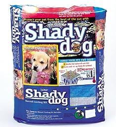 DeWitt 6-Feet by 8-Feet Shady Dog Shade Screen, Black