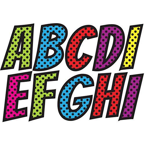 Ashley Productions Superhero Designer Magnetic Uppercase Letters (57 Piece), Assorted -