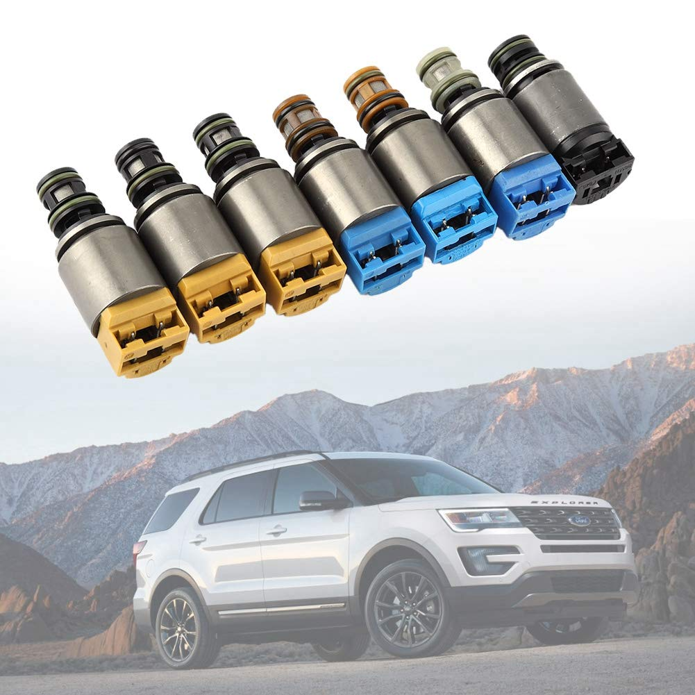 Suuonee Solenoid Control Valve,1068298044 Shift Control Gearbox Solenoid Valve Kit for 6HP19 ZF6HP26 ZF6HP Engine