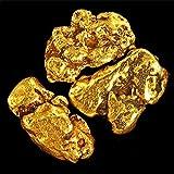 3 Pieces Alaska Natural Gold Nuggets Or Flake Specimen (Porcupine Creek Alaska as seen on TV)