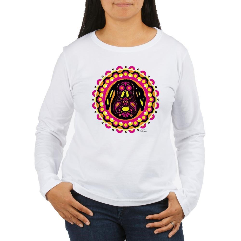 2c6108d20 Top2: CafePress - Peanuts Snoopy Circle - Women\'s Long Sleeve T-Shirt,  Classic 100% Cotton Crew Neck Shirt