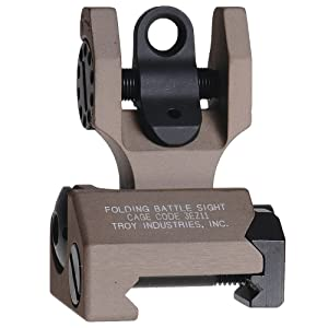 Troy Industries Folding Battle Sight Rear