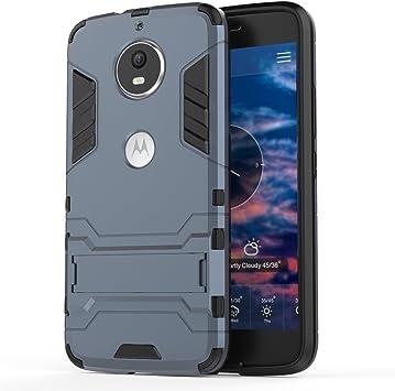 Ougger Fundas Motorola Moto G5S Carcasa Cover, Protector Absorción ...
