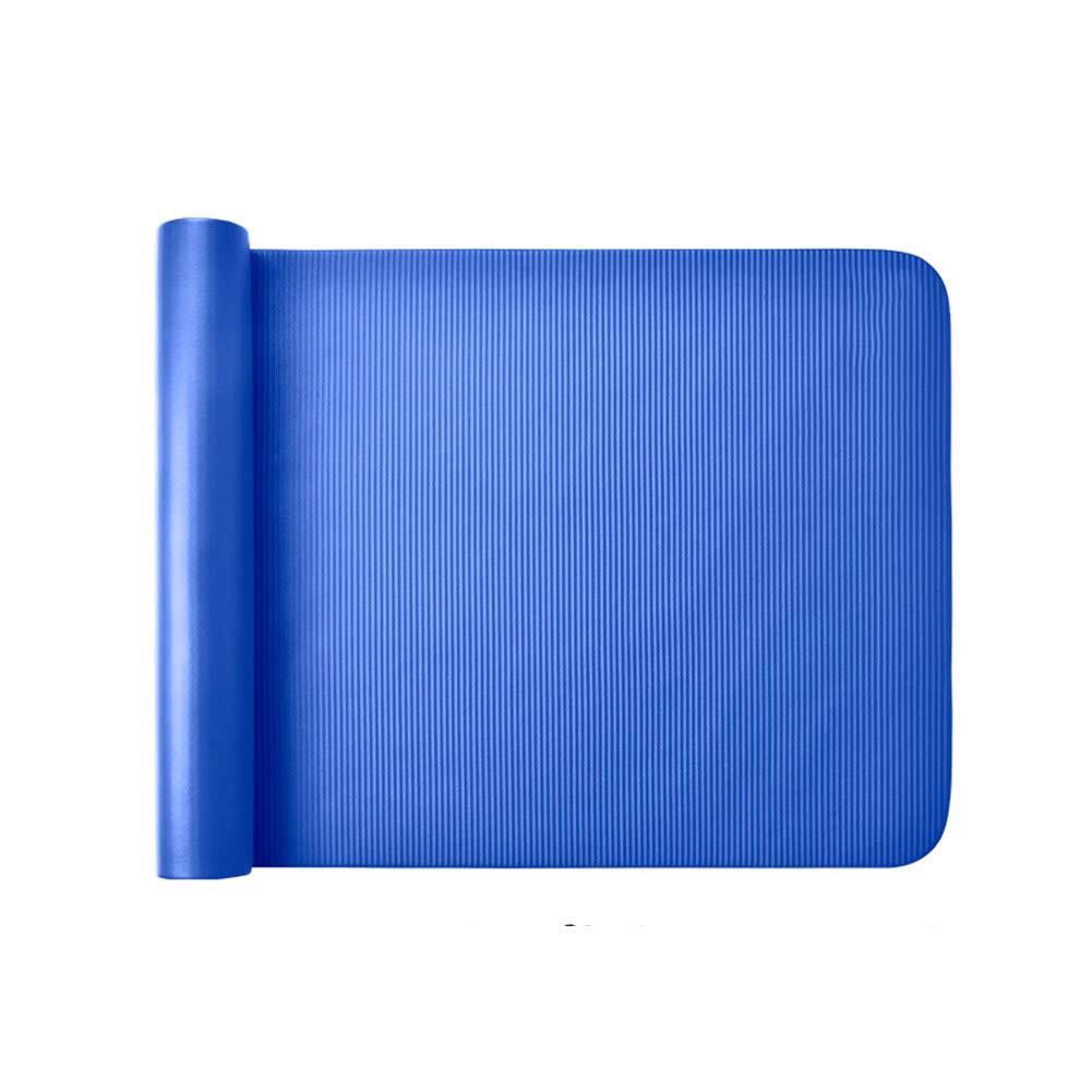 Yogamatte Fitness-Matte Anti-Rutsch-Matte Gymnastikmatte Tanzmatte Bodenmatte 4 Farben / 185cm  80cm  10mm MEILING