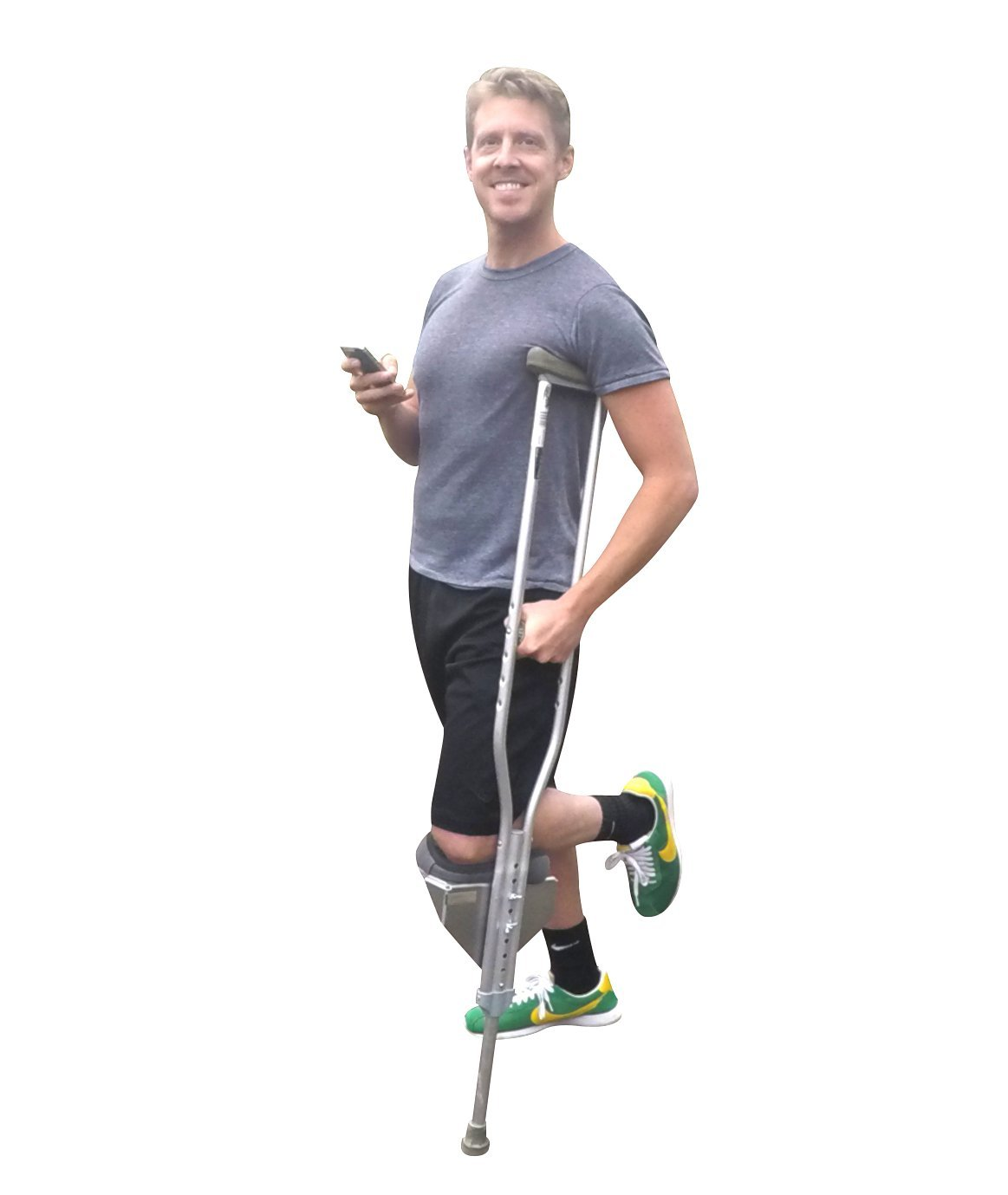 Amazon Freedom Crutch Padded Knee Rest Attaches To Standard