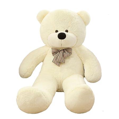 VERCART Teddybär Riesiger Plüsch bär Kuschelig Stofftier Sich Weiche Waschbar Plüschtiere Geschenk Für Kinder Geburtstag Hoch