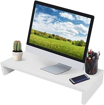 Soporte para Monitor Soporte de Monitor de portátil Ordenador Elevador de Monitor Negro Soporte para Monitor, elevación de Monitor de Escritorio, Soporte para Pantalla: Amazon.es: Electrónica