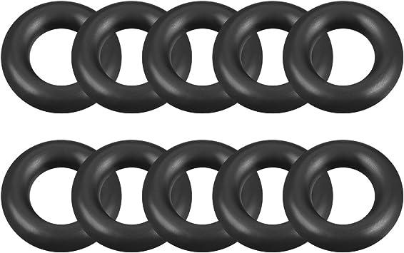 O-Rings Nitrile Rubber Outer Diameter 40 mm Round Seal Gasket Pack of 10 Width 1 mm Inner Diameter 38 mm
