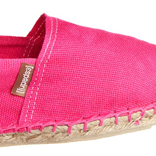 Espadrij 6 Size Cotton Classic Espadrilles Womens US 37 5 LORIGINALE Fuchsia EU qrqwO1x