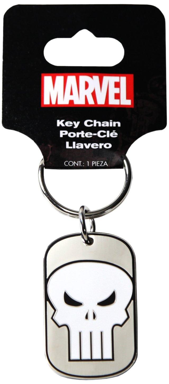 Plasticolor 004361R01 Marvel Punisher Metal Keychain
