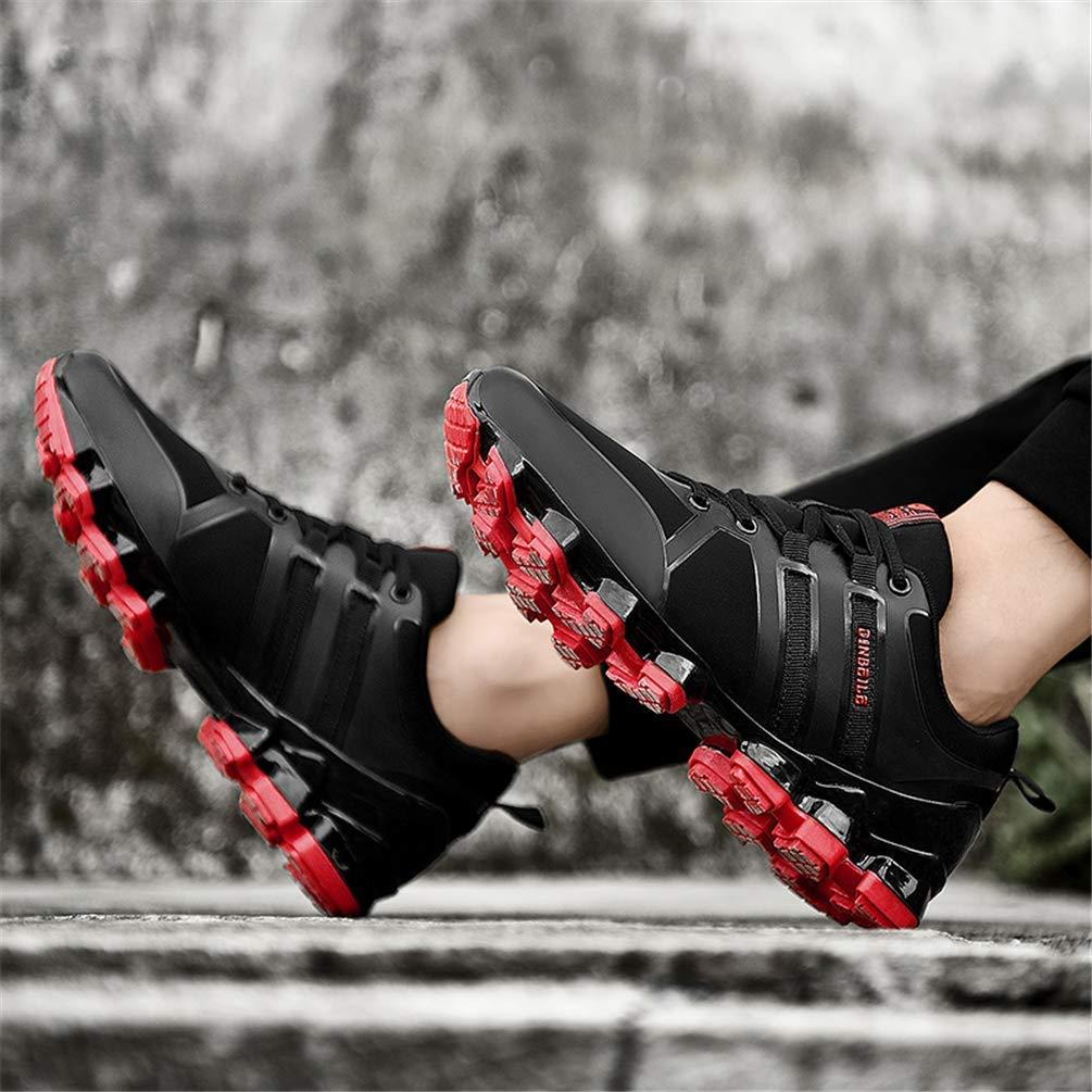 Herren Laufschuhe Atmungsaktive Wanderschuhe Outdoor Wanderschuhe (Farbe     Rot, Größe   5.5UK=39 EU) f0d98a