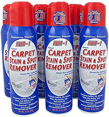 Amazon.com: 18 Oz. Lifter 1 Carpet Stain & Spot Remover (Case of 6 Cans): Office Products