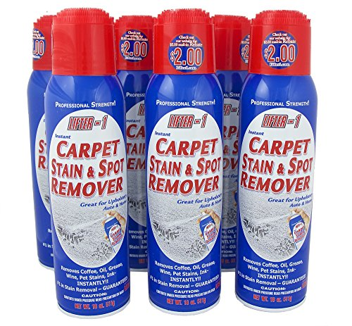 18 Oz. Lifter 1 Carpet Stain & Spot Remover (Case of 6 Cans) by Lifter-1