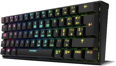 Krom KLUSTER - NXKROMKLSTRSP - Teclado Gaming mecánico RGB ...