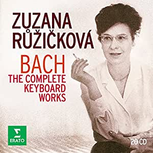 Bach: The Complete Keyboard works. (20CD)