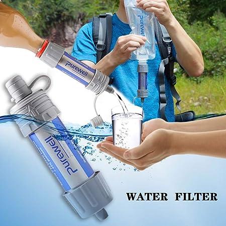 STHfficial Purificador De Agua Portátil Filtro De Agua De ...