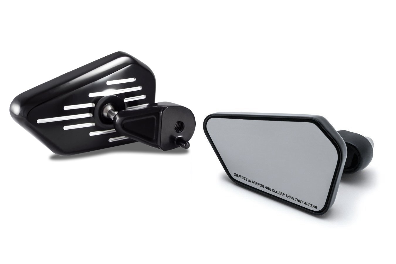 Bagger Brothers HD-MIR25K Elite Series Black Fairing Mounted Mirror for 2014 - 2018 Harley-Davidson FLH Touring Models