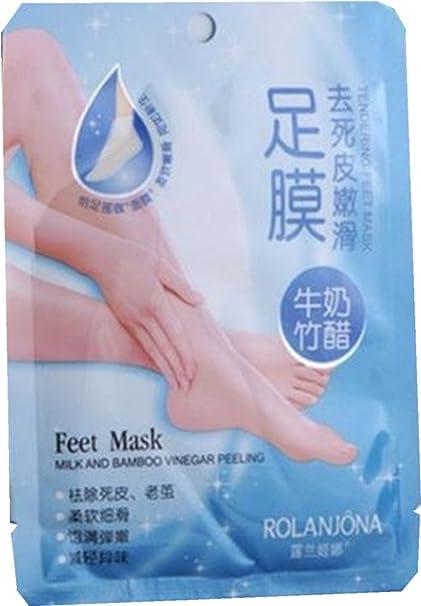Ardisle - Conjunto de 2 pares de calcetines exfoliantes para eliminar callos y piel muerta de