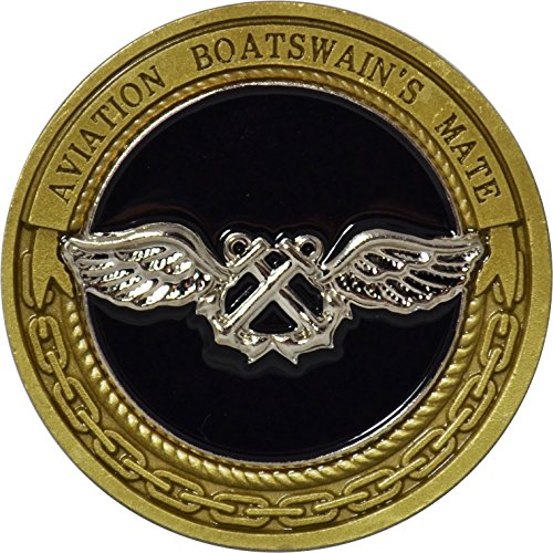Navy Aviation Boatswain's Mate Challenge Coin