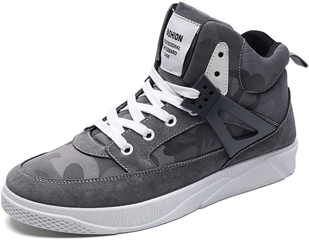 Menshoes Mens Fashion Sneaker Flat Heel Lace Up Solid Color Splice Vamp Leisure Shoes Comfortable