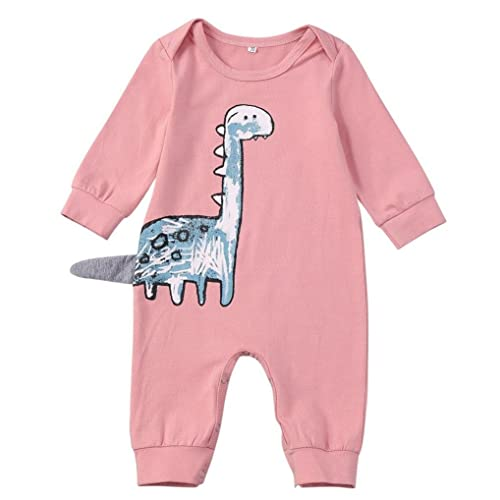 25c8fad4edf Goodtrade8 Clearance First Baby Girl Dinosaur Romper Outfit Unisex Newborn  Boy Romper Long Sleeve Jumpsuit Clothes