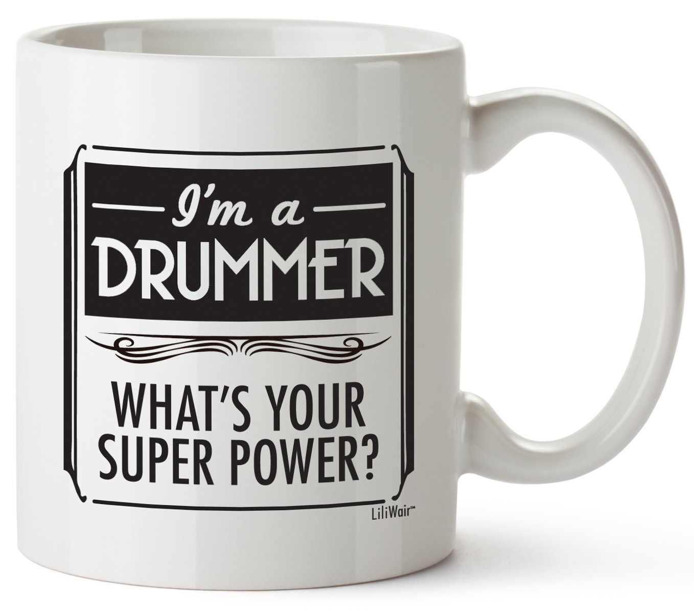 Fathers Day Gifts for Drummers Women Men Christmas Boyfriend Girlfriend Birthday Unique Best Cheap Funny Perfect Mug Drummers Girl Prime Gift Bag Mens Ideas Cool Dad Novelty Boyfriend Man Musician by LiliWair