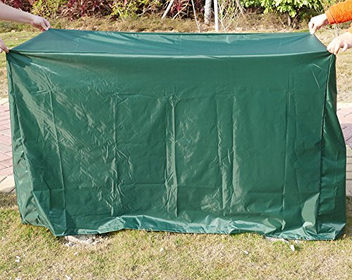 2 SEATER 1.2M 5FT GARDEN BENCH COVER WATERPROOF FURNITURE