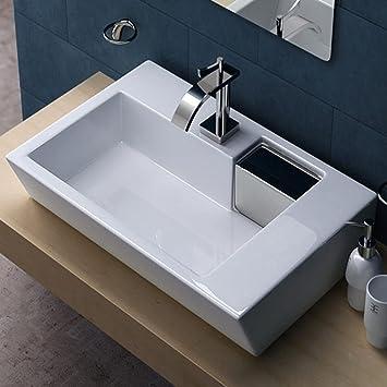 Lavabo Vasque À Poser Évier Design Bruxelles 819: Amazon.fr: Bricolage