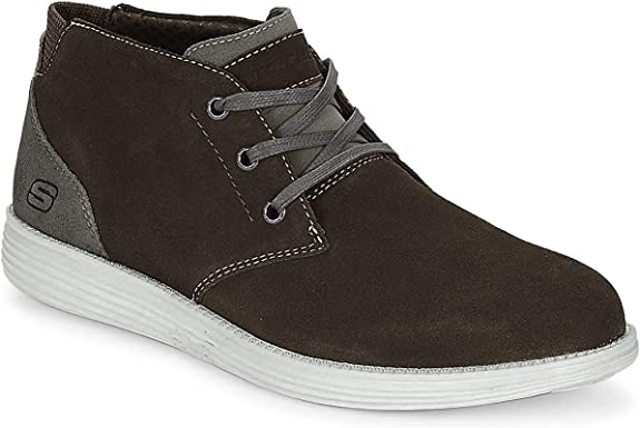 TALLA 41 EU. Skechers 65551 Relaxed Fit: Status - Rolano Mens Casual Shoes