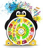 "Boxiki kids Penguin Power ABC Learning Educational Toy By Learning Game Center Boosts Core Pre-Kindergarten Subject Comprehension – ABCs, Words, Spelling, Shapes, ""Where Is?"" & Songs"