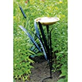 Achla CTBB02  Cattail Design Single Basin Bird Bath, My Pet Supplies