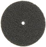 Scotch-Brite EXL Unitized Wheel, Silicon Carbide, 10000 rpm, 3'' Diameter, 1/4'' Arbor, 2S Fine Grit (Pack of 1)