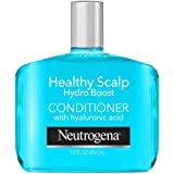 Neutrogena Moisturizing Healthy Scalp Hydro Boost Conditioner for Dry Hair and Scalp, with Hydrating Hyaluronic Acid, pH-Bala