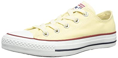 f7694b5b62c2cf Converse Unisex Chuck Taylor All Star Low Top White Sneakers - 5 D(M)