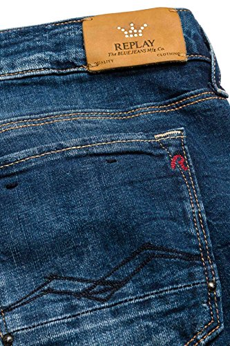 Jeans Bleu Blue Femme Replay Denim Skinny Hd6qOwU