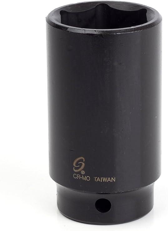 Sunex 225m 1//2-Inch Drive 25-mm Impact Socket