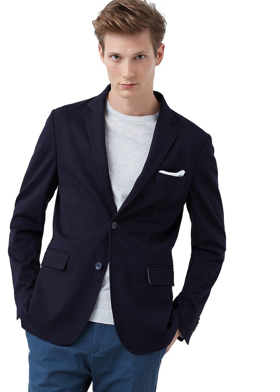MANGO MAN - Slim fit blazer mit Freizeit jersey