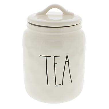 Rae Dunn Magenta TEA Canister